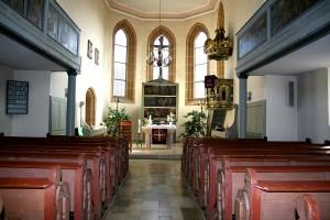 Chorraum St.Peterskirche Ammelbruch
